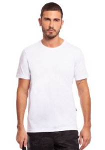 Camiseta Básica Masculina Branca