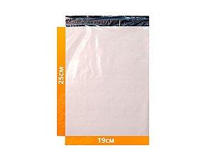 Envelope Plástico Express com Lacre de Segurança  - Branco 19x25cm | 19 x 25 cm