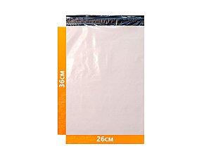 Envelope Plástico Express com Lacre de Segurança  - Branco 26x36cm | 26 x 36 cm