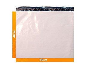 Envelope Plástico Express com Lacre de Segurança  - Branco 50x40cm | 50 x 40 cm