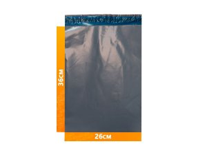 Envelope Plástico Express com Lacre de Segurança  -  Cinza 26x36cm | 26 x 36 cm
