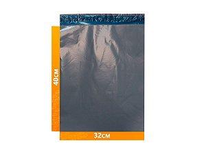 Envelope Plástico Express com Lacre de Segurança  -  Cinza 32x40cm | 32 x 40 cm