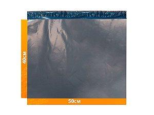 Envelope Plástico Express com Lacre de Segurança  -  Cinza 50x40cm | 50 x 40 cm