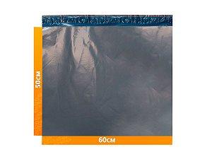 Envelope Plástico Express com Lacre de Segurança  -  Cinza 60x50cm | 60 x 50 cm