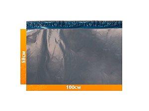 Envelope Plástico Express com Lacre de Segurança  - Cinza 100x58cm | 100 x 58 cm