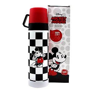 Garrafa Térmica - com Caneca - Mickey Mouse - Zona Criativa s