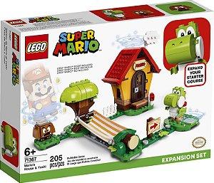 Lego Super Mario - Casa de Mario e Yoshi - LEGO