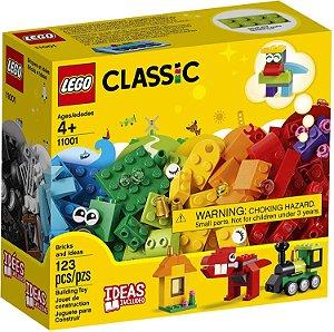 Lego Classic - Tijolos e Ideias - 123 peças - LEGO