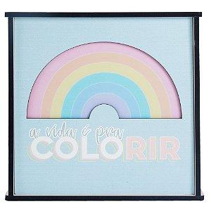 Caixa de Luz - A Vida é Pra Colorir - Uatt?