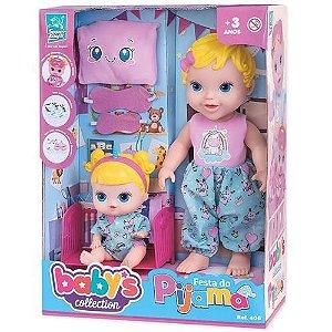 Bonecas Festa do Pijama - Baby's Collection - Super Toys
