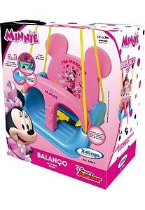 Balanço Infantil 3 em 1 - Minnie - Xalingo