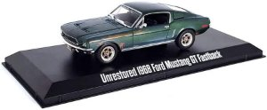 Carro Miniatura - Unrestored 1968 Ford Mustang GT Fastback - Steve McQueen Collection - 1/43 - California Toys