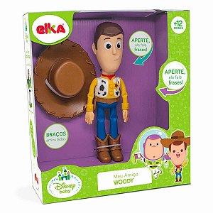Boneco Meu Amigo Woody - Fala Frases - Elka