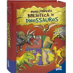 Box de Livros Infantis - Minha Primeira Biblioteca de Dinossauros - Todo Livro