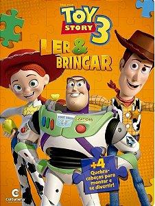Livro Quebra-cabeça - Toy Story 3 - Culturama