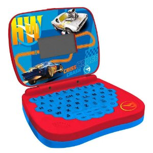 Laptop Infantil - Hot Wheels - Bilíngue + Atividades - Candide
