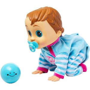 Boneco Baby Wow - Charlie - Fala e Engatinha - Multikids