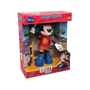 Boneco Mickey Radical com Som - Elka
