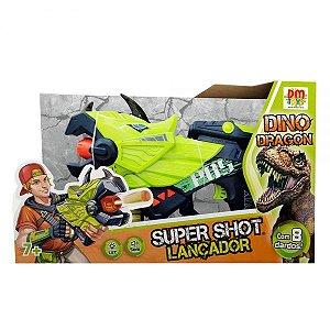 Lançador Super Shot Dino Dragon - Dm Toys