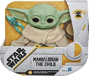 Pelúcia Sonora The Child Star Wars The Mandalorian - Hasbro
