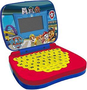 Laptop Infantil - Bilíngue - Patrulha Canina - Candide