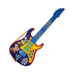 Guitarra Eletrônica Infantil - Patrulha Canina - Candide