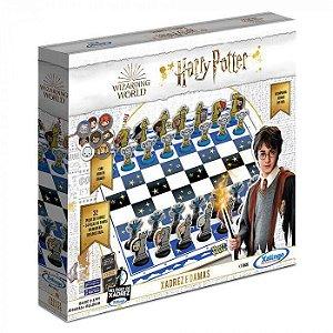 Jogo Xadrez e Damas Harry Potter - Xalingo