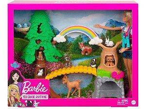 Boneca Barbie Profissões Exploradora - Mattel