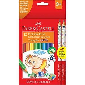 Lápis De Cor - Jumbo - 12 cores - Faber Castell