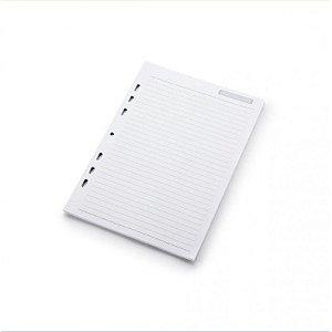 Refil de Folha Pautada - para Planner A5 - Otima Grafica