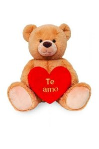 Urso Coração Te Amo