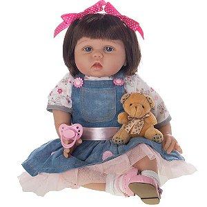 Bebê Reborn Laura Baby - Eva - Shiny Toys