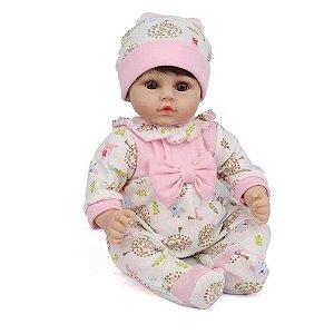 Bebê Reborn Laura Baby - Luna - Shiny Toys