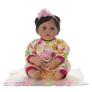 Bebê Reborn Laura Baby - Nadia - Shiny Toys
