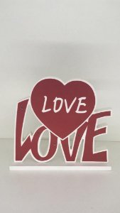 Luminária de Mesa - Love