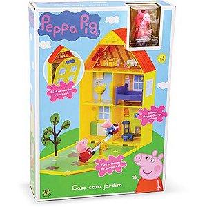 Peppa Pig - Casa com Jardim - DTC