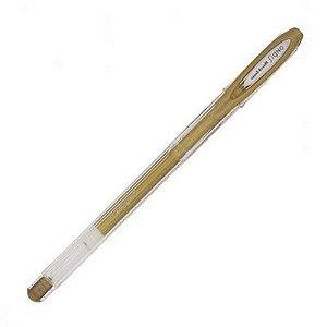 Caneta Gel - Signo Noble Metal - Dourado - Uni-ball
