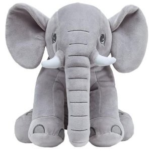 Pelúcia Elefantinho - Cinza - Buba