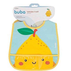 Babador Com Bolso - Frutti Limão - Buba