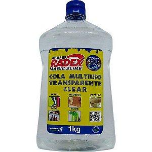 Cola Transparente - Multiuso - Magic Slime - 1kg - Radex