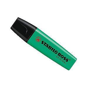 Caneta Marca Texto - Verde Escuro - Stabilo Boss