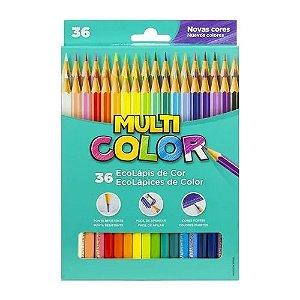 Lápis De Cor - 36 cores - Multicolor