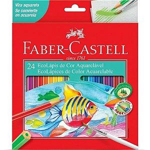 Lápis De Cor - Aquarelável - 24 Cores - Faber Castell