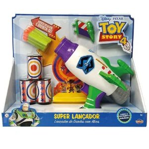 Lançador de Dardos com Alvos - Toy Story 4 - Toyng
