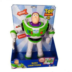 Boneco Buzz Lightyear Toy Story 4 - Golpe de Karate - Toyng