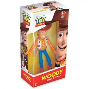 Boneco Woody - Vinil - Toy Story - Lider