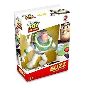 Boneco Buzz Lightyear - Vinil - Toy Story - Lider