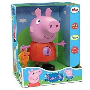 Boneca Peppa Pig - com Atividades - Elka
