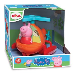 Helicóptero - Peppa Pig - Elka