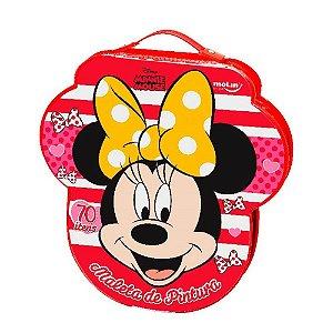 Maleta de Pintura - Minnie Mouse - 70 Itens - Molin